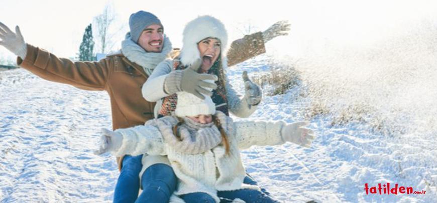 Çocuklu Ailelere Özel Kış Rotaları